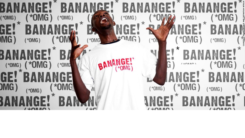 "<a href=""http://www.definitionafrica.com/"" target=""_blank"">Definition Africa</a> is a t-shirt business based in Kampala, Uganda. The energy and vitality of Ugandan life is translated into clothing, incorporating local designs and everyday expressions. ""Banange"" is a saying used in Luganda and  loosely means ""oh my gosh."""