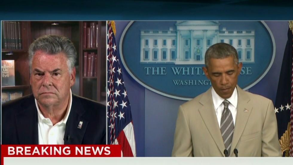 Rep. Peter King slams Obama for tan suit - CNN Video