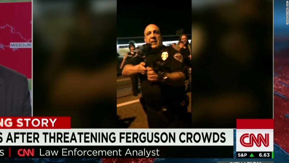 Fallout from questionable police actions in Ferguson continues