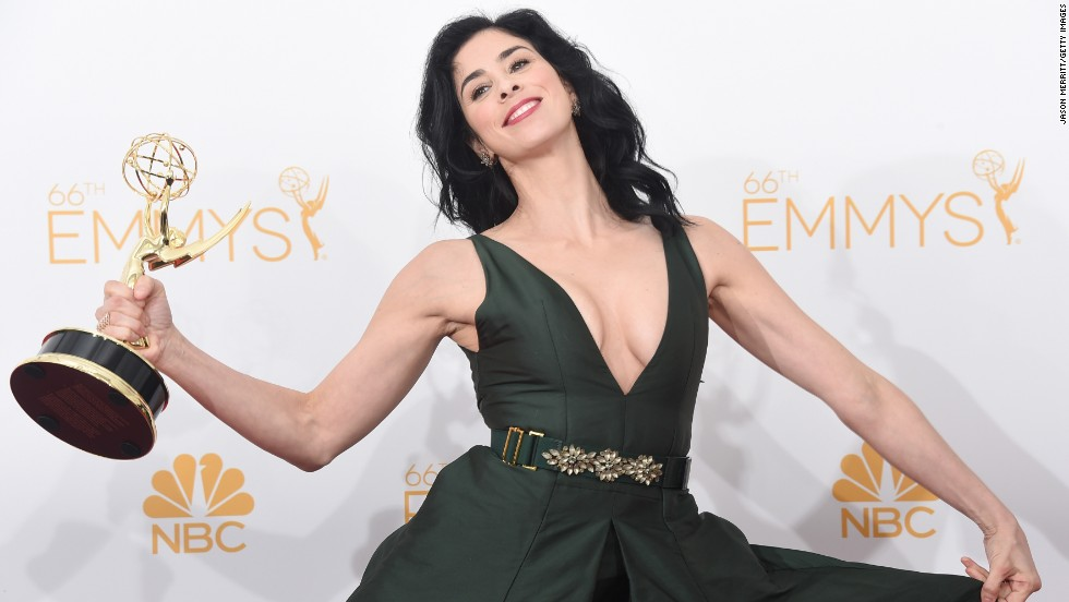 "The only thing guaranteed when Sarah Silverman does stand-up is that something outlandish, and probably offensive, will come flying out of her mouth. Silverman honed her talent in the writers' room of ""Saturday Night Live"" in the early '90s before landing some on-camera work of her own. Roles in movies like ""Bulworth"" and ""There's Something About Mary"" helped increase her visibility, but it was her 2005 one-woman show, ""Jesus Is Magic,"" that cemented her place as a force to be reckoned with."