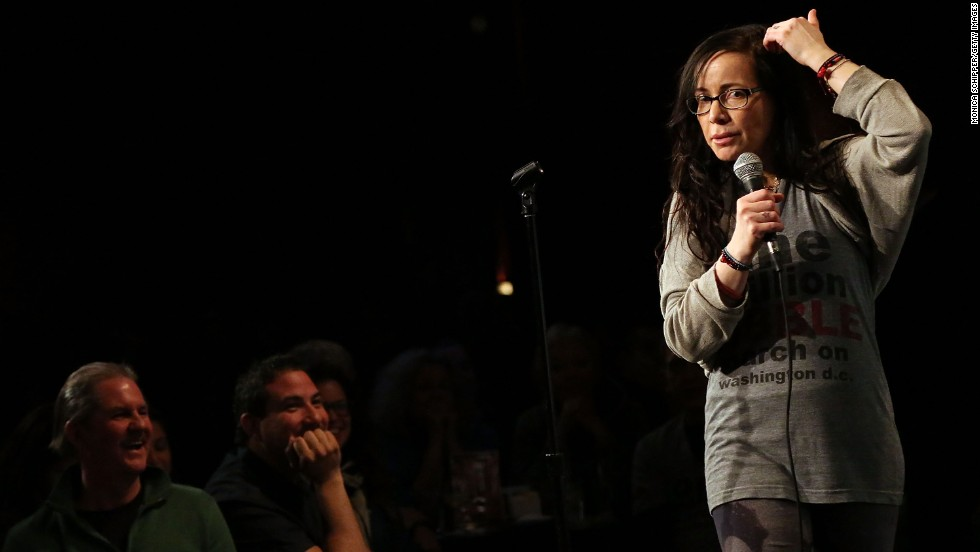 "For some of you, the '90s is nothing without the image of a brunette Janeane Garofalo in specs and Doc Martens, sardonically commenting on the culture of the day. Although Garofalo began her stand-up career in the late '80s, it felt like she was born to wryly carry us through the decade that followed. With credits that include ""The Ben Stiller Show,"" ""Reality Bites,"" ""The Larry Sanders Show"" and ""Saturday Night Live,"" Garofalo's comedy helped define a generation."