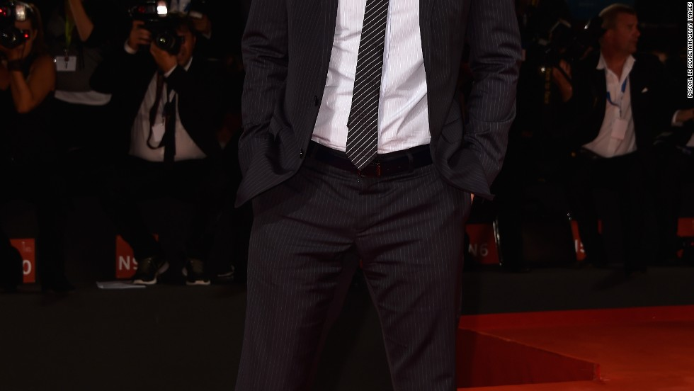 Owen Wilson makes an appearance at the Venice Film Festival on August 29.