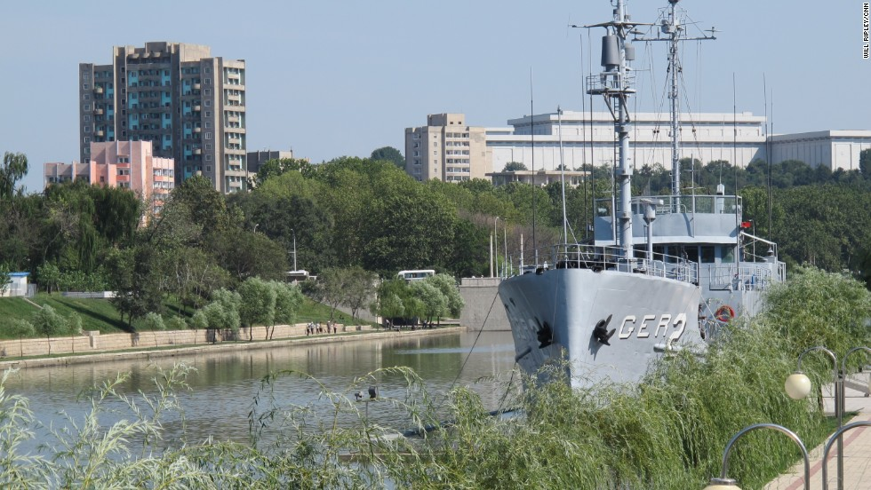 The North Korean military captured the American ship USS Pueblo in 1968.  The US Navy denies North Korea's claims that the ship crossed into DPRK waters.
