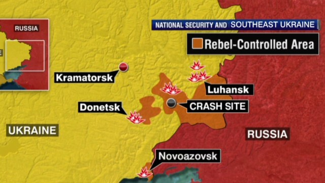 Ukrainians brace for rebel attack