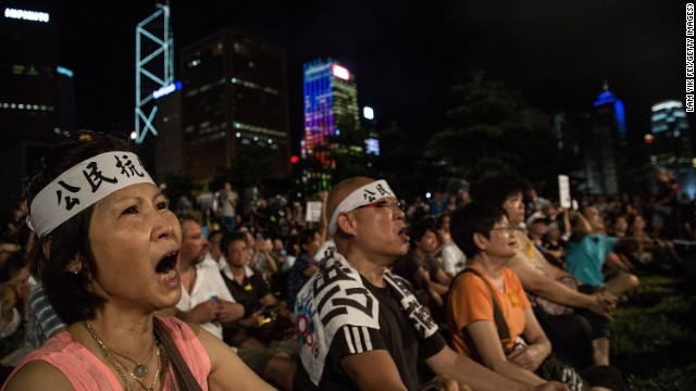 Hong Kong denied full democracy by China