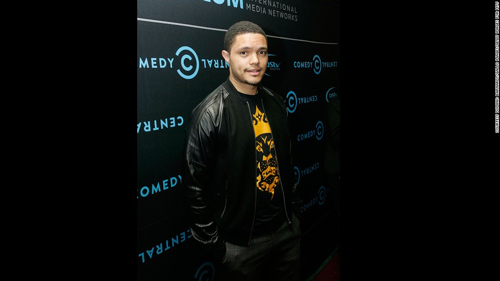 "A former <a href=""http://edition.cnn.com/video/data/2.0/video/international/2013/02/08/african-voices-trevor-noah-comedian-b.cnn.html"" target=""_blank"">guest of African Voices, Trevor Noah is a hilarious South African comic</a> has gone from hometown hero to international superstar. Noah, whose act often centers on race and ethnicity, has appeared on Late Show with David Letterman, and the UK panel show QI."