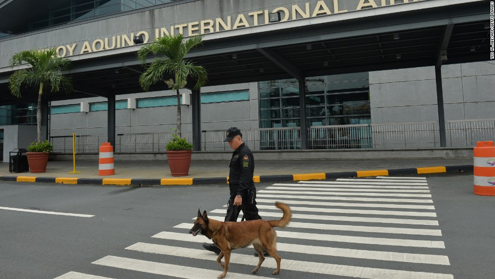 Alleged bomb plot foiled at Manila airport, state-run media report