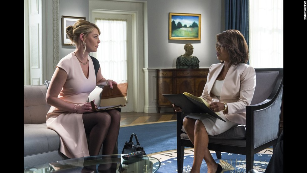 "<strong>""State of Affairs"" (NBC) </strong>-- Katherine Heigl stars as a presidential adviser with a troubled past. Alfre Woodard plays the President.  (November 17)"