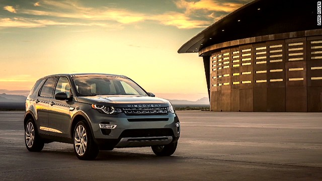 land rover reveals discovery sport cnn video. Black Bedroom Furniture Sets. Home Design Ideas