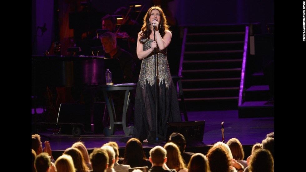 "Idina Menzel's version of ""Let It Go"" hit No. 5 on the Billboard Hot 100."