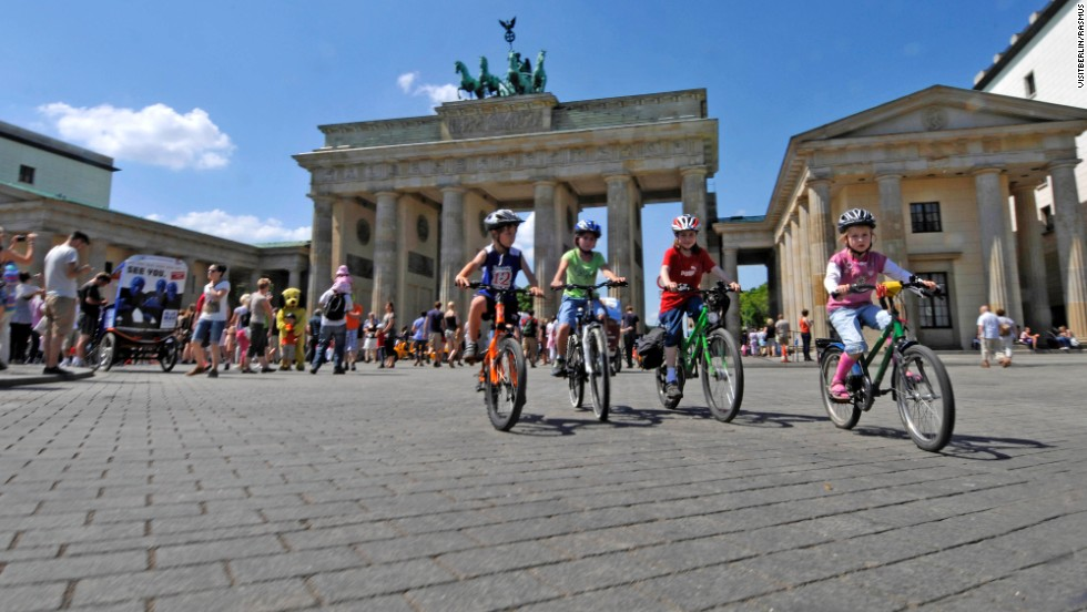 About 25 miles of the Berlin Wall Trail runs through the city, taking in key tourism spots.