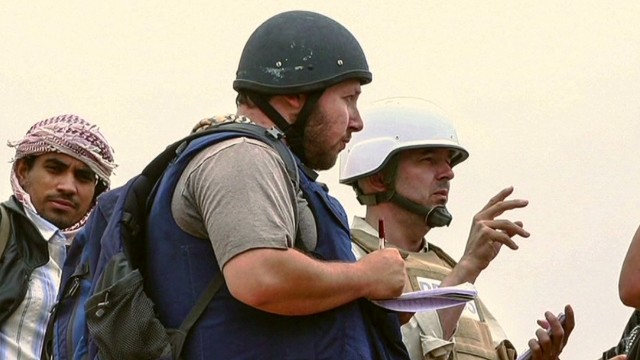 Colleague: Sotloff was very dedicated