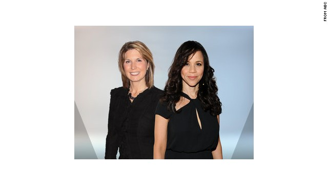"Nicolle Wallace, left, and Rosie Perez will join ABC's ""The View."""