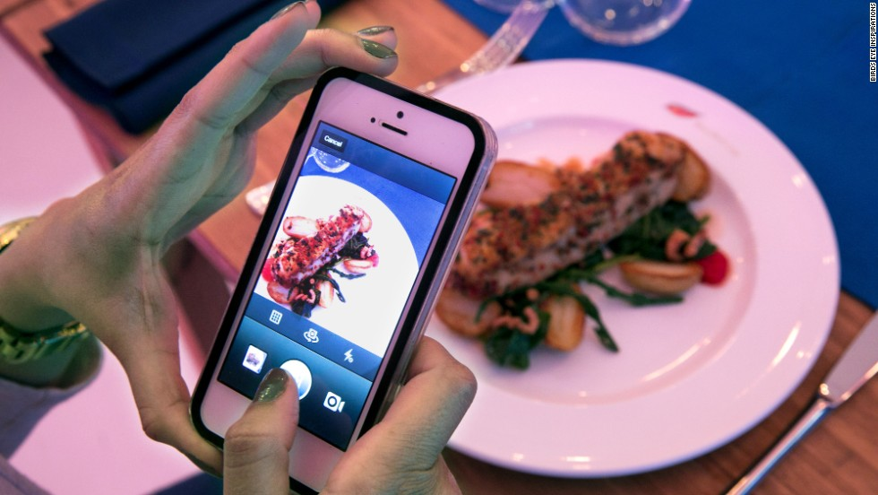 Visitors to Birds Eye's pop up restaurants were able to eat for free in exchange for an Instagram.