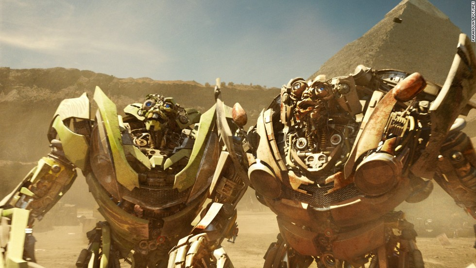 "Good robots known as the Autobots and bad robots, the Decepticons, fight for dominance on Earth in the ""Transformers"" franchise."
