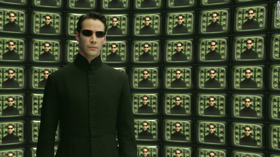 "In ""The Matrix,"" Keanu Reeves stars as Neo, who must find a way to win the war against the Matrix, intelligent machines that have taken over the world."
