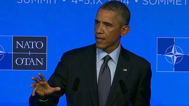 Obama clarifies message on ISIS