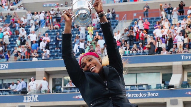 Serena Williams wins the US Open