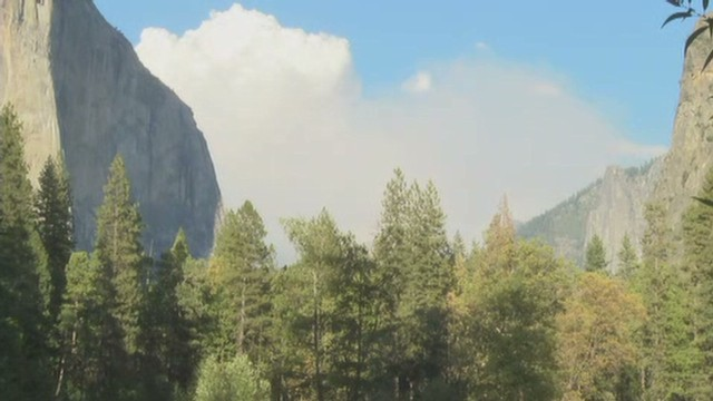 Hikers evacuated from Yosemite