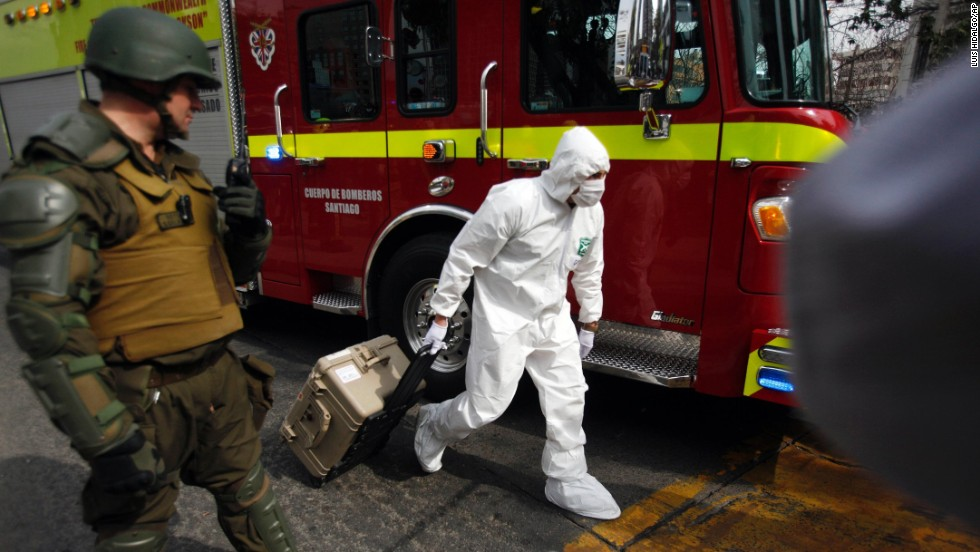 Subway explosion in Chile injures 14