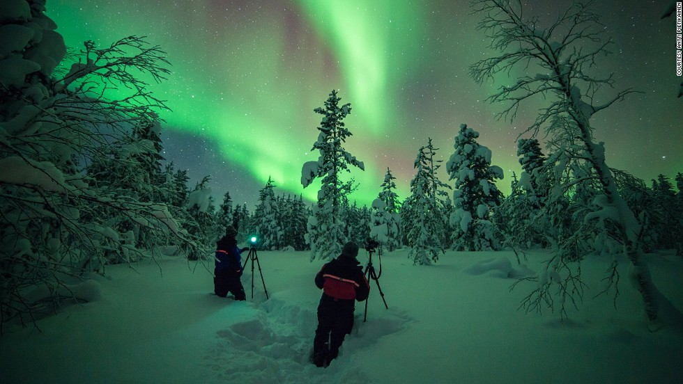 """The tour embraces that quintessential feeling of what winter should really be like -- powdery snow, snow-capped trees and those amazing skies,"" says Gareth Hutton, who will lead a tour to Torassieppi in Lapland in early 2015."