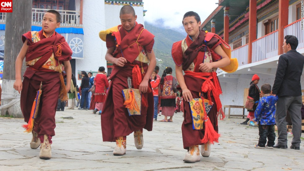 "Every May during Vesak, a holiday that marks Buddha's birthday, Buddhists celebrate with prayers and other events, <a href=""http://ireport.cnn.com/docs/DOC-1150190"">Uday Sripathi </a>said. Young monks like those pictured here from the Tawang Monastery in Arunachal Pradesh, India, help in the festivities."