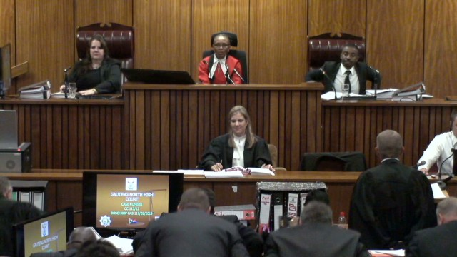 Pistorius judge, stern yet compassionate