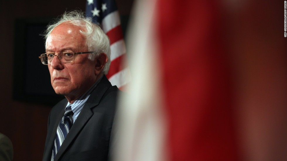 Sanders calls for political revolution