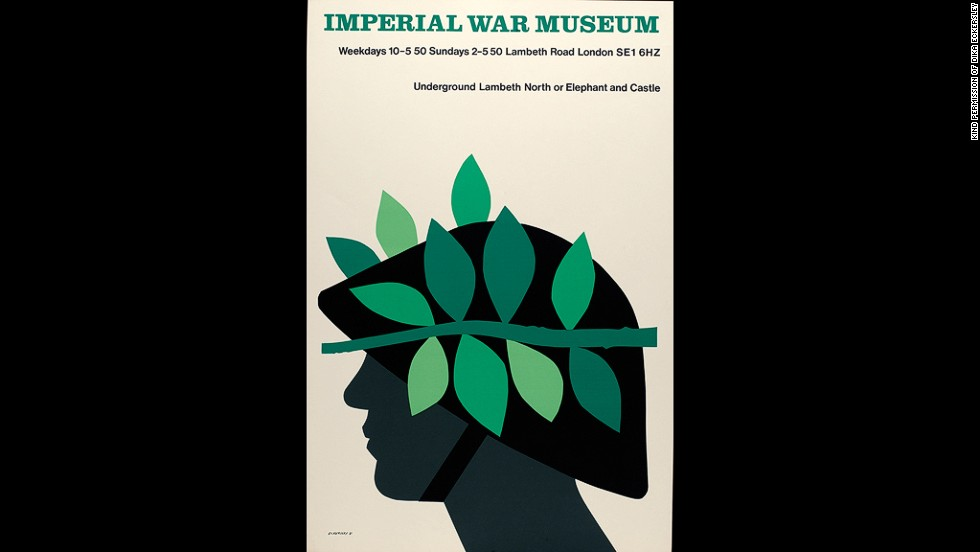 An advertisement for London's Imperial War Museum, 1981