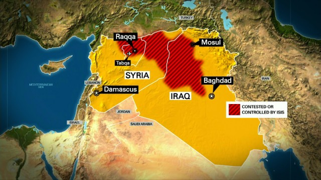 U.S. flying surveillance over Syria