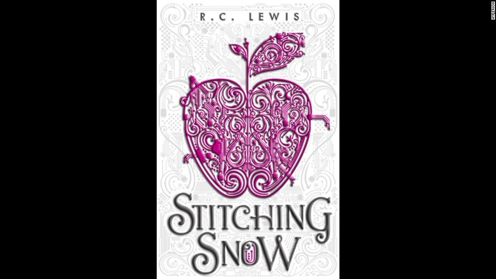 "R.C. Lewis reimagines the tale of Snow White in sci-fi setting in ""Stitching Snow."" Essie is the long-lost Princess Snow, who hides out in a mining settlement with her seven drones and codes machines until Dane crash-lands into her world and discovers her true identity. Kirkus Reviews calls it ""a fine addition to the ever popular subgenre of fairy-tale adaptations."""
