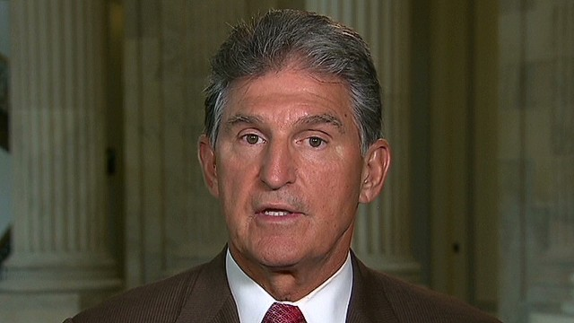 Manchin: I'm not for boots on the ground