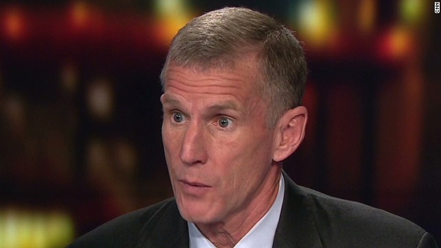 McChrystal: 'ISIS is a serious threat'