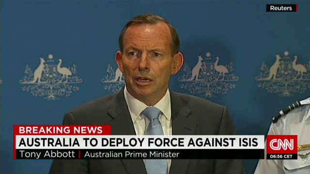 Australia to deploy force against ISIS