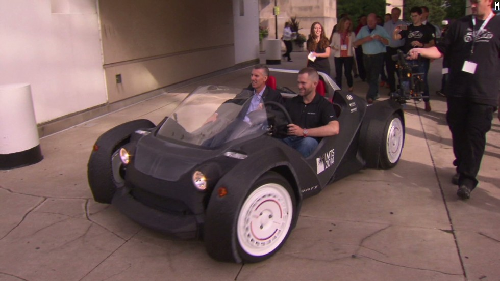 See the world's first 3D-printed car - CNN Video