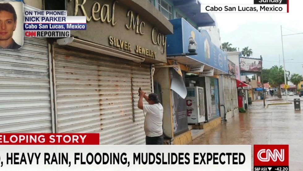 Hurricane Odile, a Category 3 storm, threatens Baja California