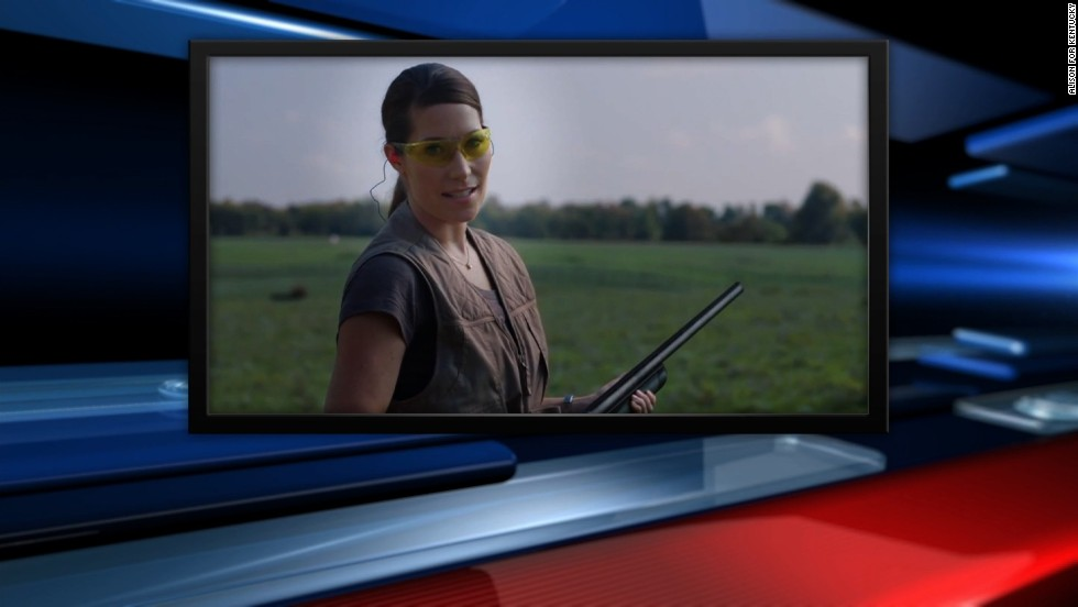 Grimes ad: 'Mitch, that's not how you hold a gun' - CNN.com