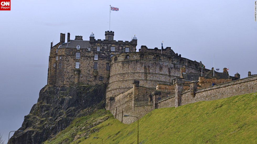 "One of Scotland's most recognizable icons is majestic <a href=""http://ireport.cnn.com/docs/DOC-1158554"">Edinburgh Castle</a>. The historic fortress sits on top of volcanic rock, towering over the city of Edinburgh.<br /><a href=""http://www.cnn.com/2014/09/17/travel/scotland-independence-irpt/index.html""><strong><br />See more stunning photos of Scotland here.</a></strong>"