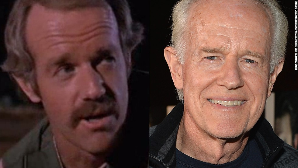 "After Wayne Rogers' Trapper John was discharged, Mike Farrell's B.J. Hunnicutt joined the fray as Hawkeye's new confidant. For non-""M*A*S*H"" fans, Farrell's also known as Dr. James Hansen from the aughts drama ""Providence."" This year, Farrell appears in the new Sundance TV drama <a href=""http://www.sundance.tv/series/the-red-road"" target=""_blank"">""The Red Road.""</a>"