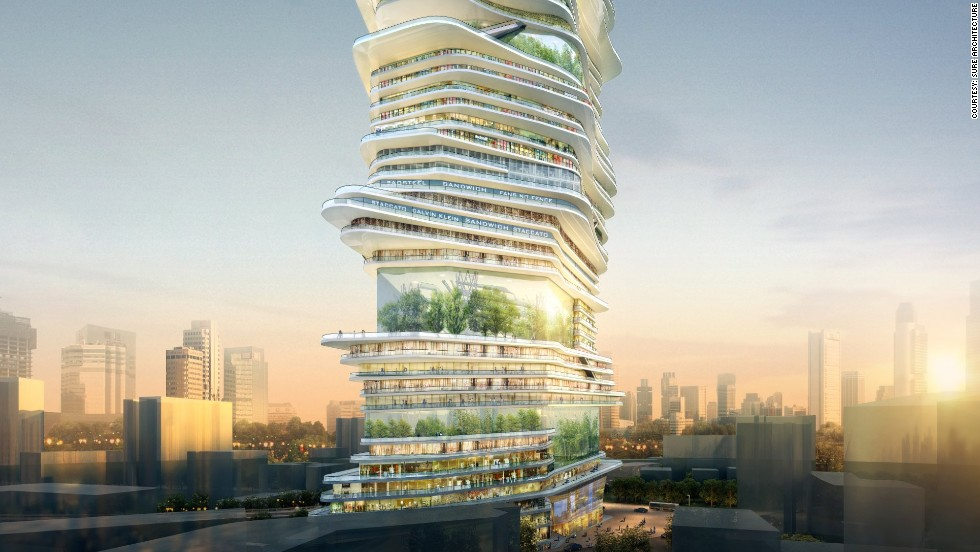 If built, it would reach up to 300 meters in London's skyline.