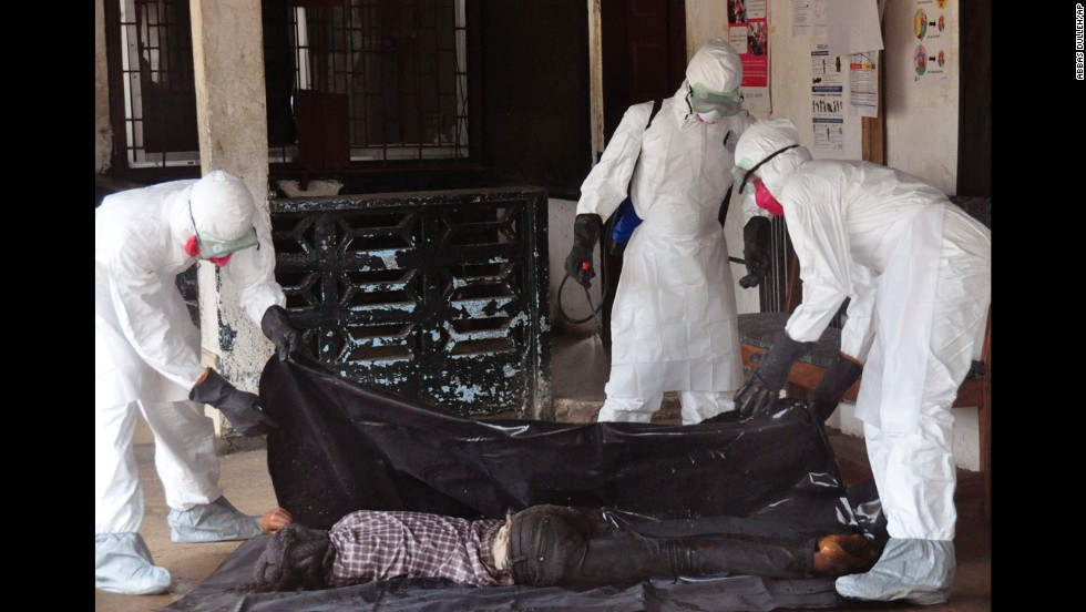 Pentagon explains Ebola deployment