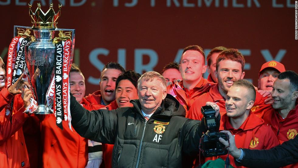British football has known its fair share of successful Scottish managers -- Matt Busby, Jock Stein, Bill Shankly -- but none can match Alex Ferguson. Pictured here with his 13th and final Premier League title, Ferguson -- who says Scotland should stay in the Union -- amassed 38 trophies with Manchester United, including two European Cups. One of his most impressive triumphs came when guiding Scottish side Aberdeen to beat Real Madrid in the 1983 European Cup Winners' Cup.