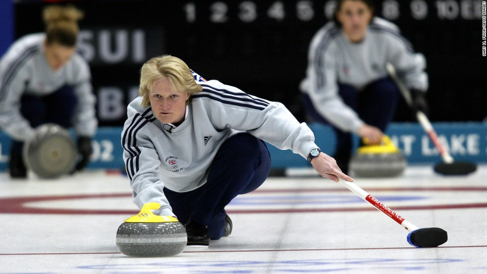 Curling was invented in Scotland in medieval times so it's perhaps fitting that one of Britain's most celebrated Winter Olympic gold medals was provided by an all-Scottish team in 2002. As British fans stayed up late to watch a sport few had known much about just weeks previously, captain Rhona Martin catapulted curling into the British consciousness. It was the UK's first gold medal at the Winter Olympics since 1984.