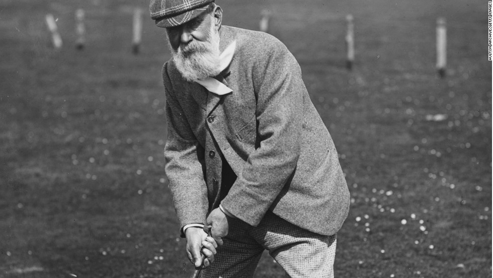 "Many credit the game of golf as having been invented in Scotland in the 15th century. The sport's oldest major, the British Open, began in 1860, while ""Old"" Tom Morris -- pictured -- won it the following year and on three more occasions that decade. Morris played a pivotal role in developing golf at its spiritual home, St. Andrews -- the town where he was born."