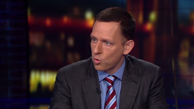 Thiel: College diploma is a dunce hat