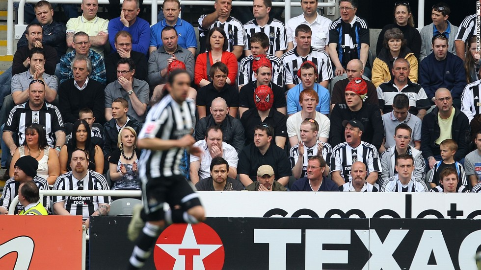 Gutierrez was a cult figure at Newcastle with fans donning 'Spider-Man' masks in honor of the winger's nickname. Gutierrez scored 10 goals in 177 league games for the club.
