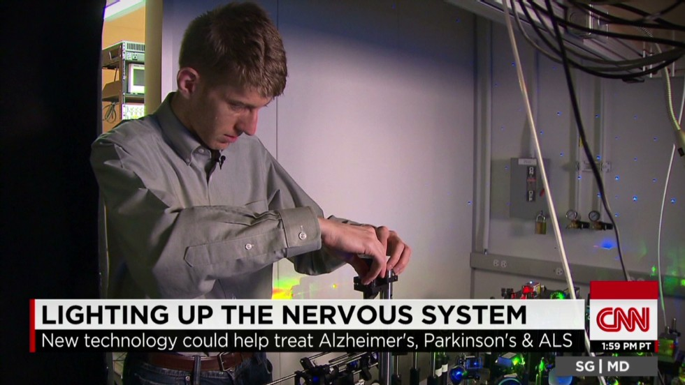 New tool helps scientists see neurons - CNN Video