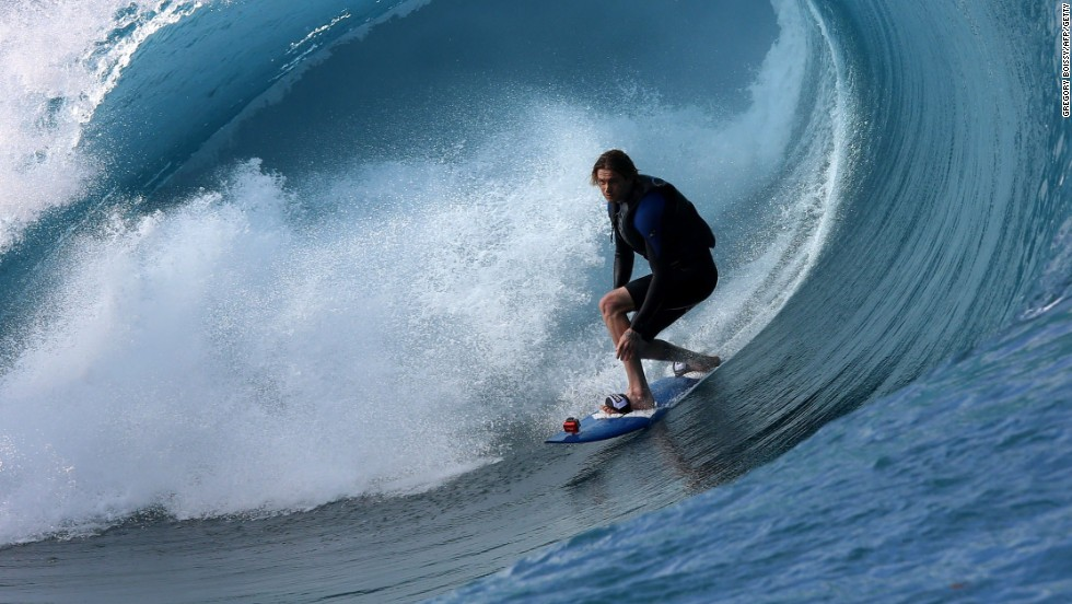 Many local surfers are being used for the remake which is due to hit the screens in July 2015.