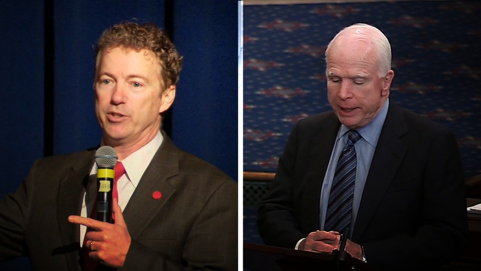McCain accuses Paul of working for Putin