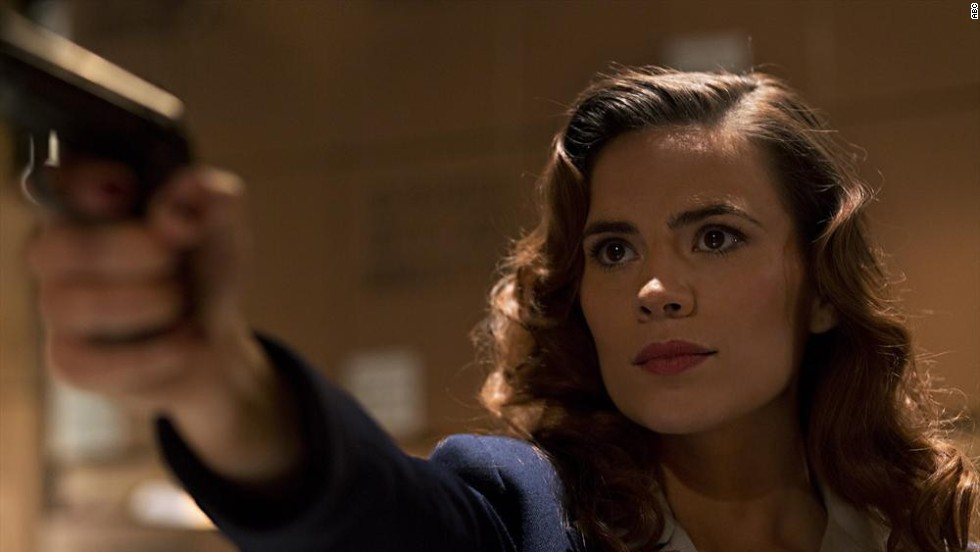 "If you wanted to see more Peggy Carter (Hayley Atwell) after ""Captain America: The First Avenger,"" consider your wish granted. ABC's new show ""Agent Carter,"" set in 1940s post-war America, gives an inside look at Carter's life after Captain America's disappearance, from her work with Howard Stark to the founding of SHIELD. The show will air during the mid-season break for ""Marvel's Agents of SHIELD,"" beginning on January 6. Click through our gallery to see other favorite historical shows coming up in 2015."